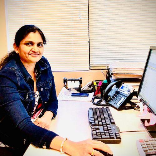 Jaya. New Patient co-ordinator and billing